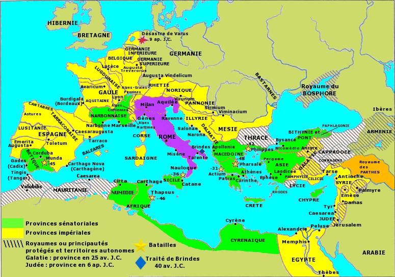 L Empire Au Temps D Auguste