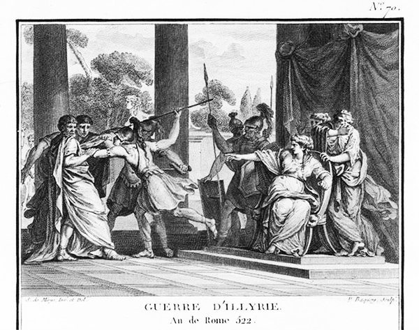 The death of Publius Decius Mus